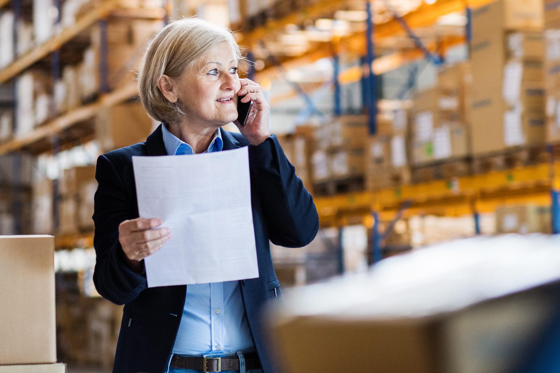 automata logisztikai modul, vállalatirányítási rendszer