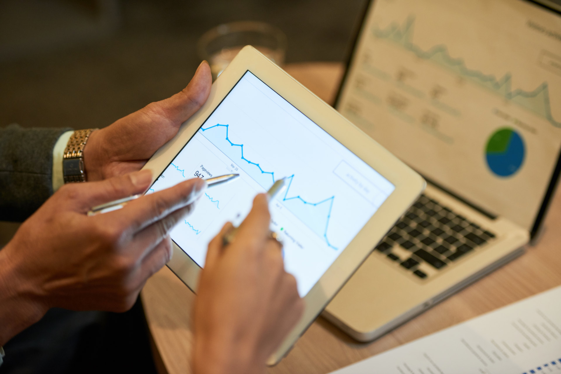 Üzletkötői tablet modul